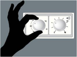 Image showing temperature controls