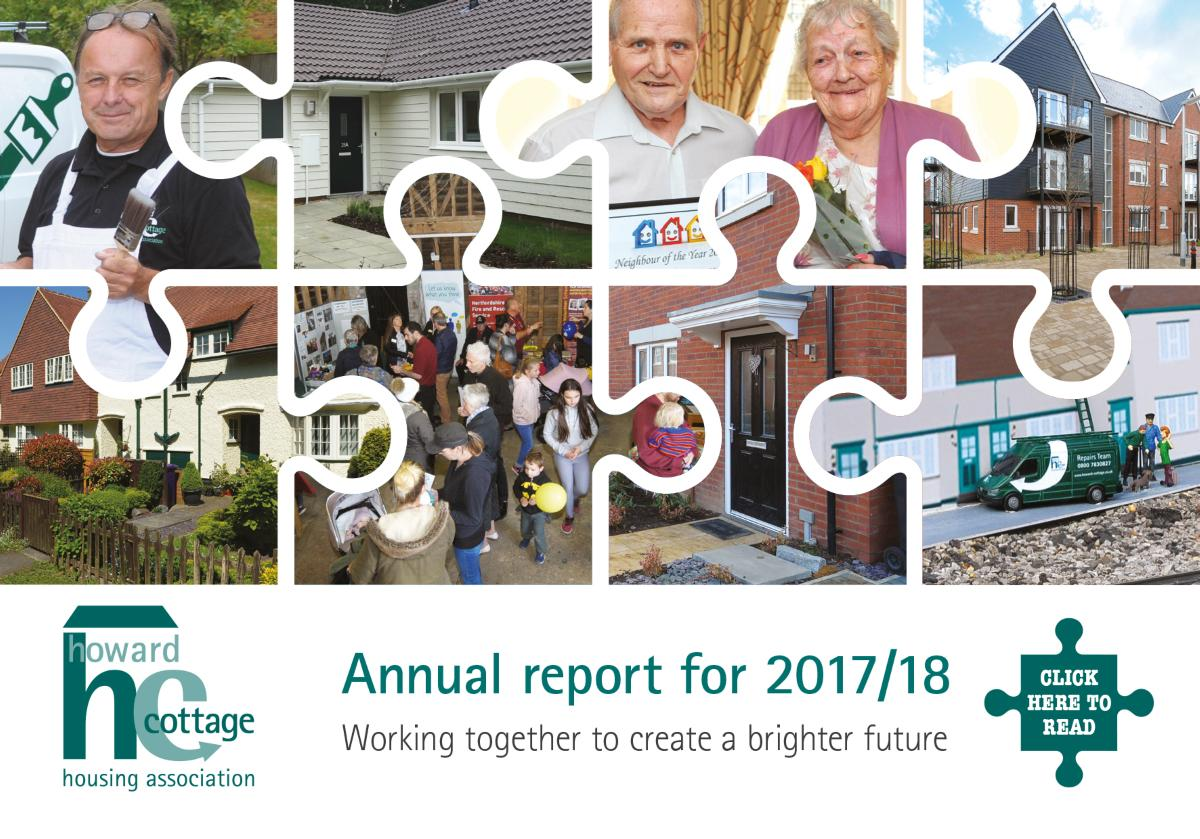 Annual Report front cover 2017/18