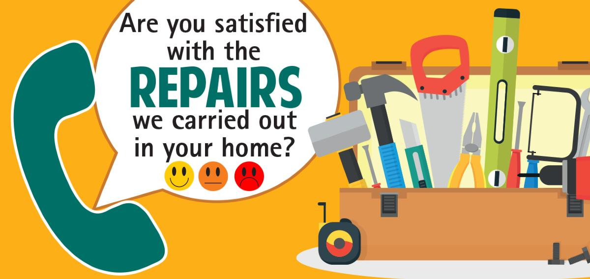 Repairs satisfaction logo