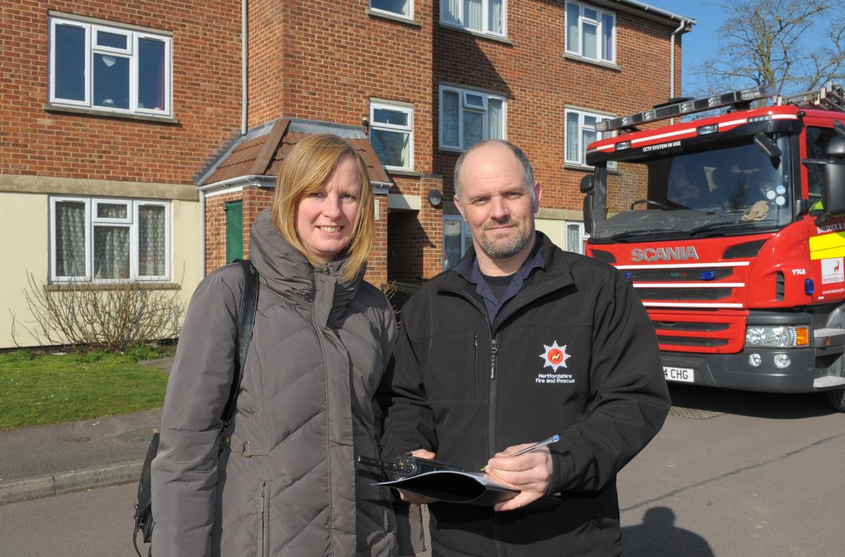 fire safety checks for residents