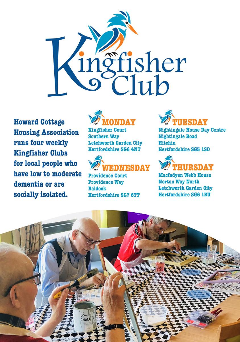 Kingfisher Club leaflet cover